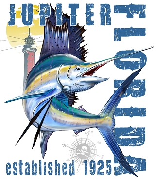 Jupiter Florida Sailfish Performance Tee
