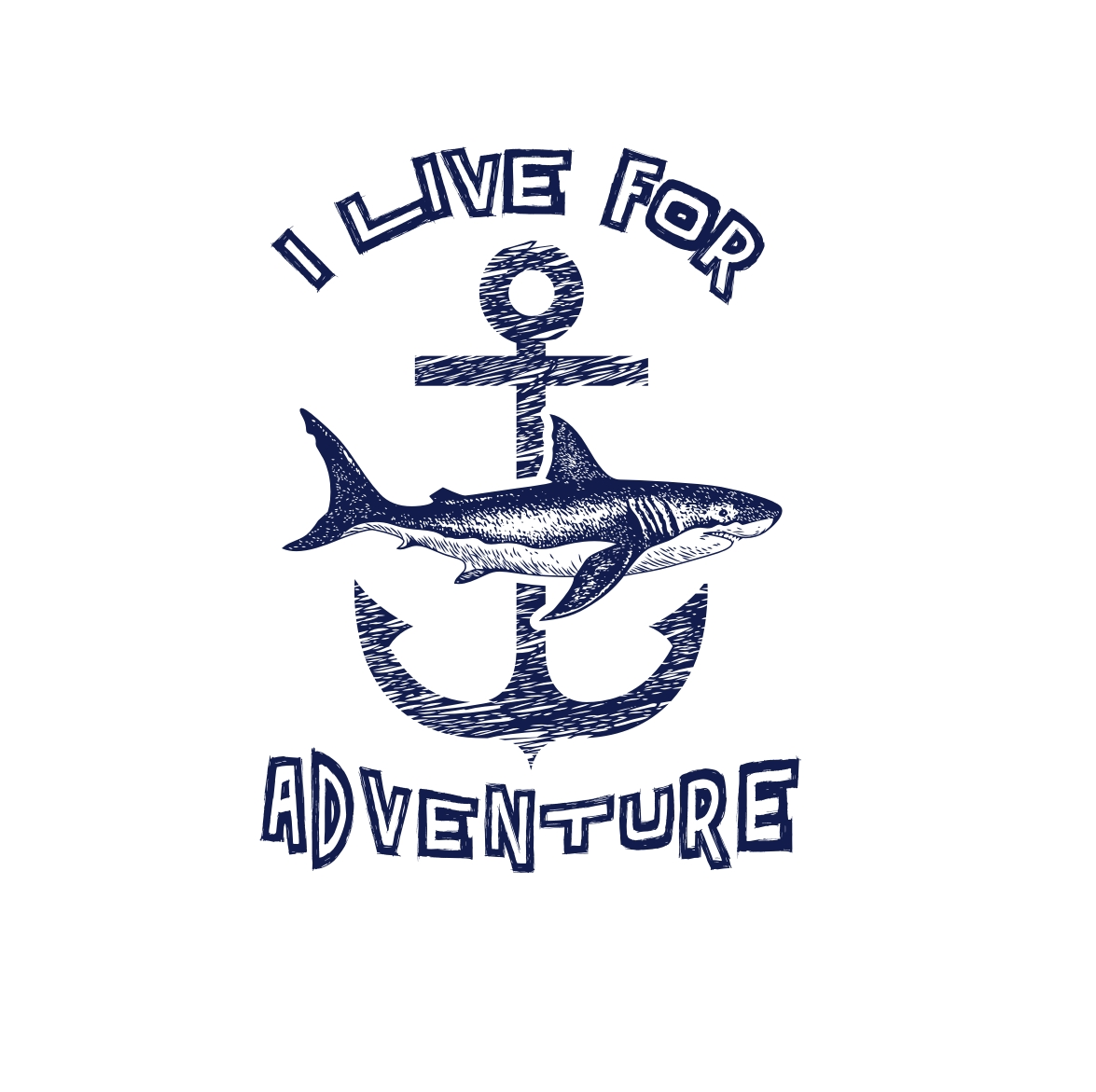 I Live For Adventure Kids Tee