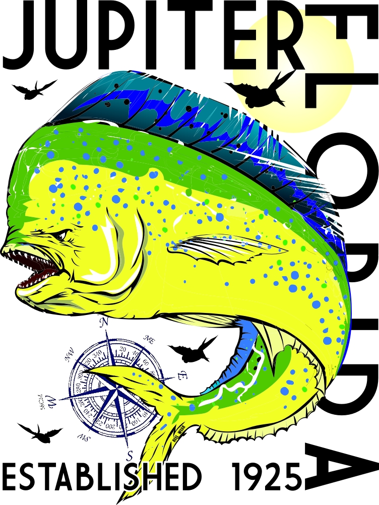 Jupiter Florida Mahi Performance Long Sleeve