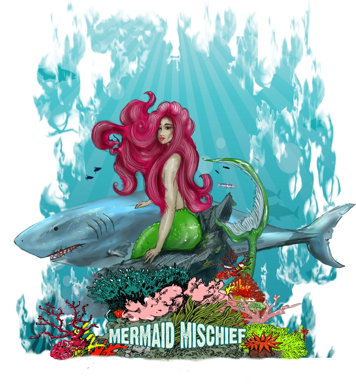 Mermaid Mischief - Jupiter Florida