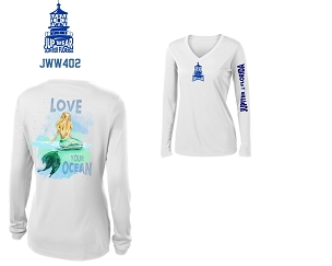 Jup Wear Mermaid Love Your Ocean Long Sleeve