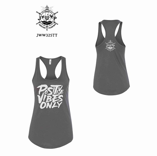 Positive Vibes Only Racer Back Tank